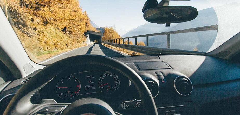 Multifocale lenzen tijdens autorijden