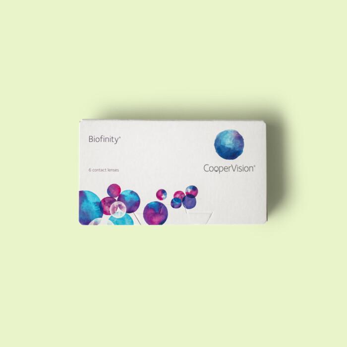 Biofinity contactlenzen
