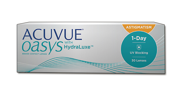 1-day Acuvue Oasys for Astigmatism